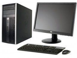 """Zestaw komputerowy HP 6305 MT 3.6GHz + AOC E2640P 24"""" - Foto1"""