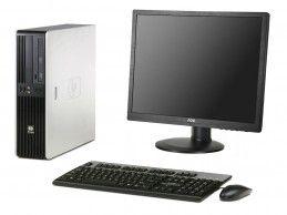 """Zestaw komputerowy HP z monitorem 19"""" - Foto1"""
