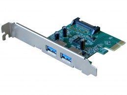 Kontroler 2x USB 3.0 HP CHI314PCB-2 PCIe x1 - Foto1