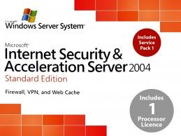 Microsoft Internet Security Acceleration Server 2004 Standard Edition - Foto1