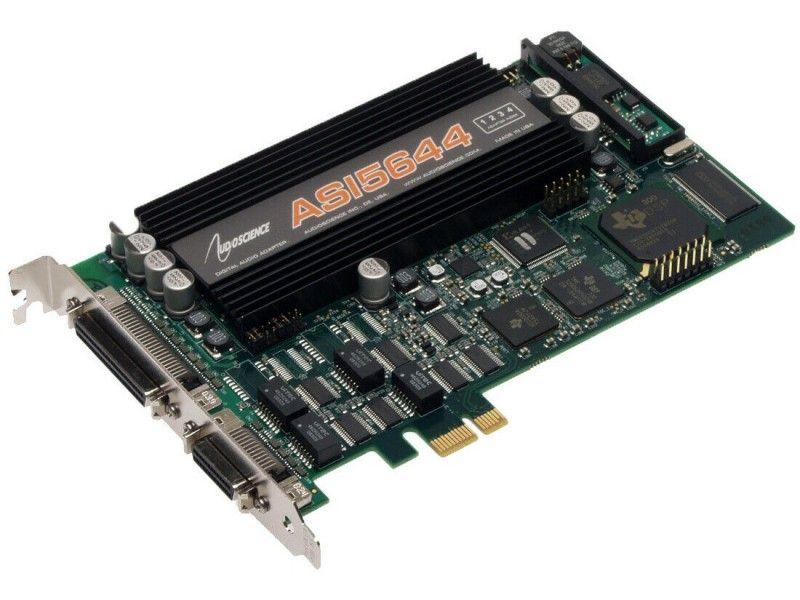 Audio Science ASI5644 PCI-E x1 - Foto1