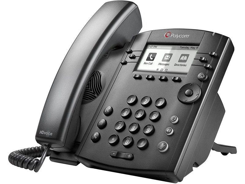 Polycom VVX 310 VoIP PoE 6 linii - Foto1
