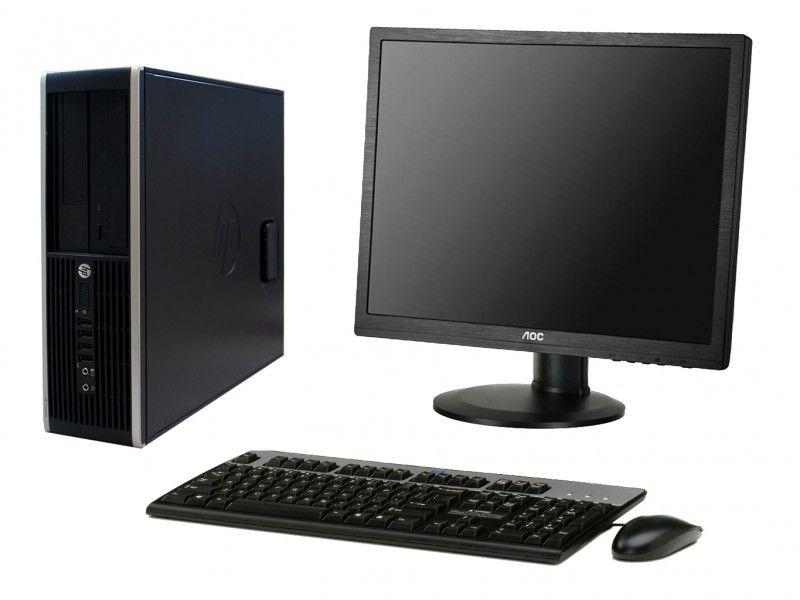 """Zestaw komputerowy HP 6000 SFF z monitorem 19"""" - Foto1"""