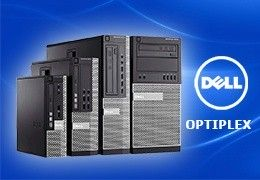 Komputery stacjonarne Dell OptiPlex 790, 3010, 7010, 9010