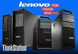 Lenovo ThinkStation - najwyższej klasy wydajność i niezawodność