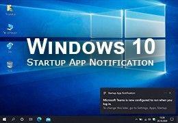 Windows 10 otrzyma powiadomienia o automatycznie uruchamianych programach