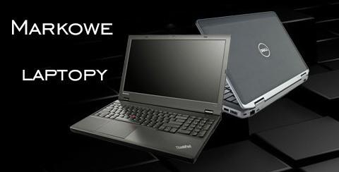 Markowe laptopy używane / poleasingowe i nowe