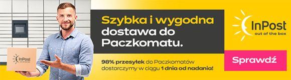 Wygodna dostawa z Inpost Paczkomaty 24/7
